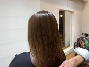 艶のある綺麗な髪質画像
