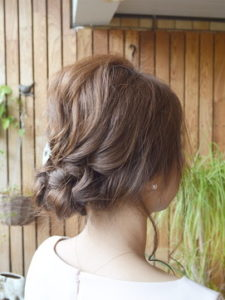平塚の美容室BAGUSのヘアアレンジ